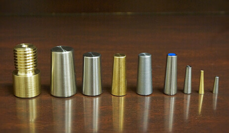 Aluminium Brass Threaded Tapered Tube Plugs exporter, supplier, stockist & manufacturer
