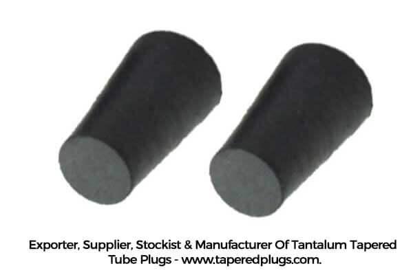 Tantalum Tapered Tube Plugs Exporter, Supplier, Stockist & Manufacturer